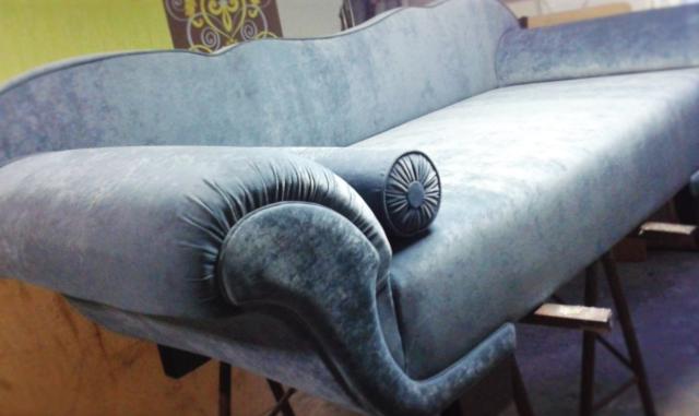 usługi tapicerskie kraków, sofa