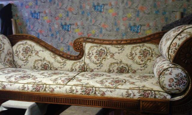 naprawa mebli kraków, sofa